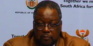 Police Minister Nathi Nhleko