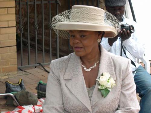 Veteran actress Cynthia Shange