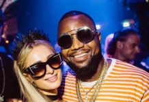 Cassper Nyovest and Paris Hilton