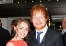 Ed Sheeran at premiere
