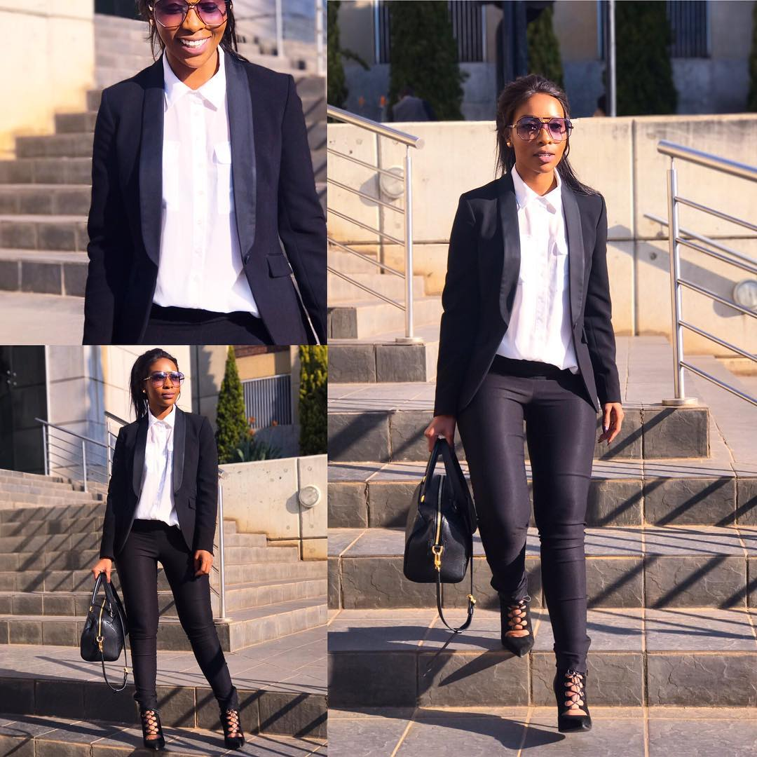 Top Ten Fab Pictures: Pearl Modiadie Looks FAB In Latest Pictures #InCharge