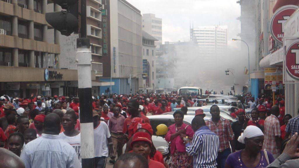 Protests in Harare