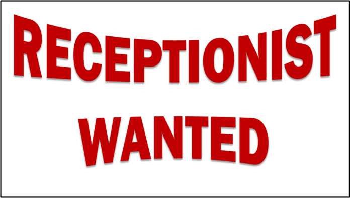 RECEPTIONIST-WANTED