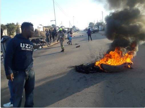 VIOLENT PROTEST IN DIEPSLOOT!