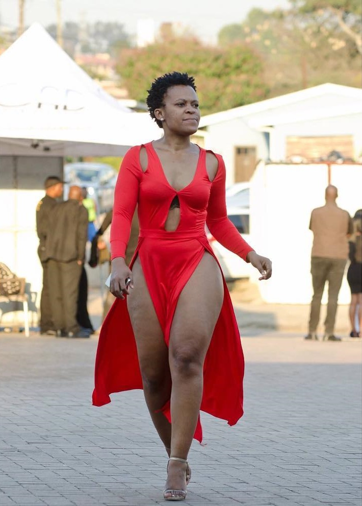 Fashion 2017 durban july - More Pictures Of Zodwawabantu Shows She Never Wear Pant