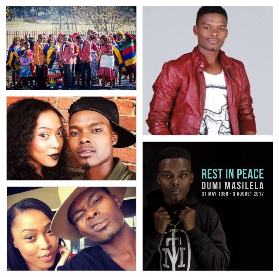 Dumi Masilela leaves behind his new wife Simphiwe Ngema # ...
